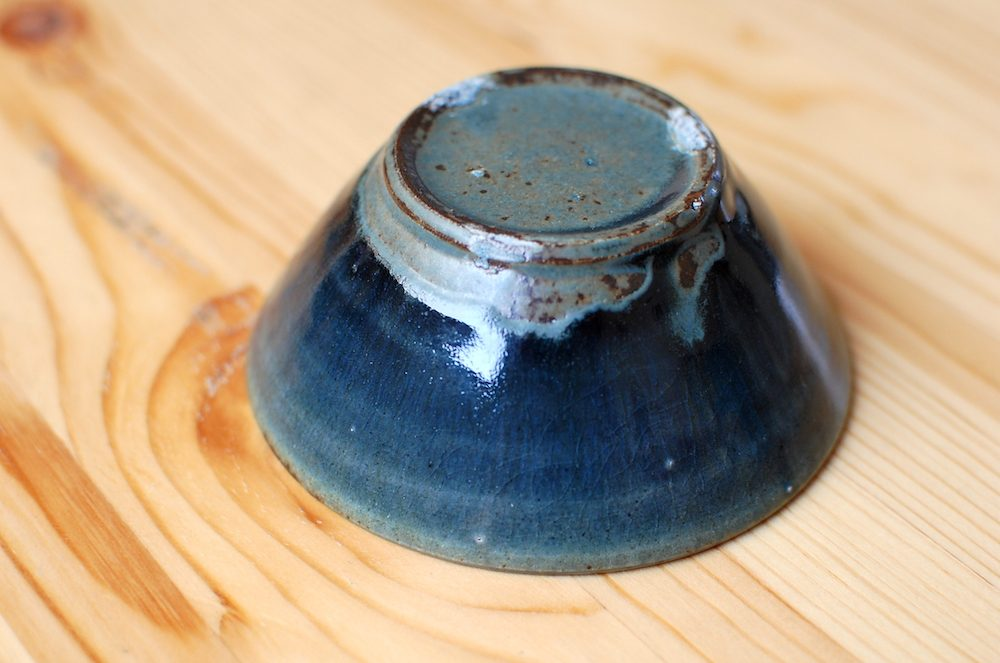 田谷直子さんの小鉢、裏側