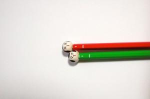 こけし鉛筆