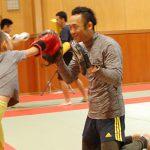 キックボクサーが教えるキックボクシング教室「泰キック!」初参加