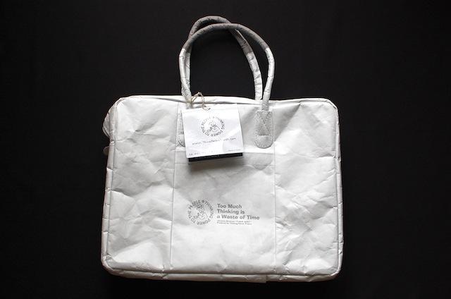 タイベック製バッグの新品時