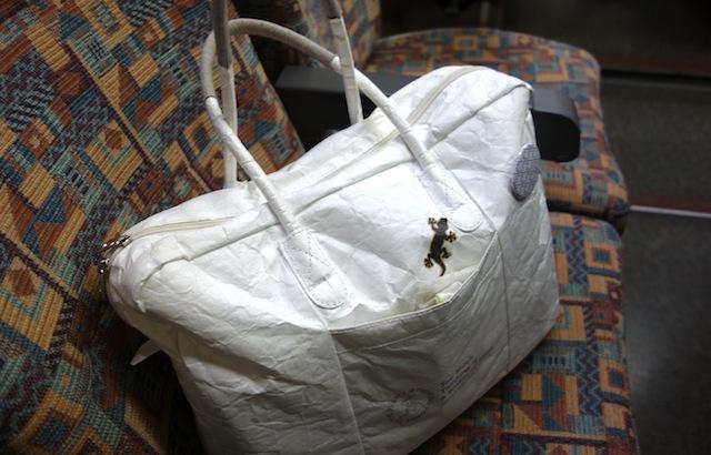 タイベック製の軽いバッグ