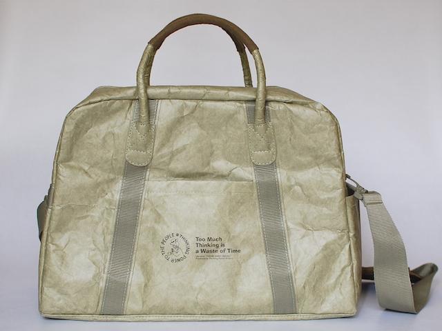 タイベック素材の旅行バッグ「シンクトラベル」