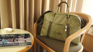 軽い旅行鞄