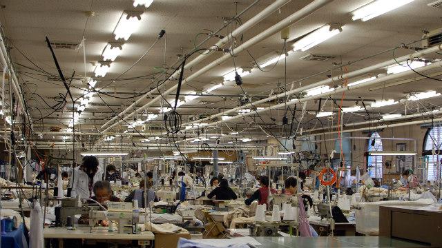 美装いがらし工場見学