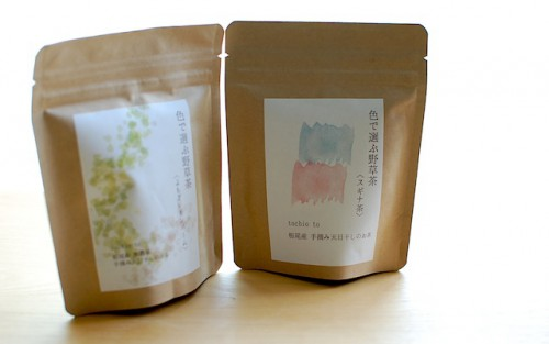 tochiotoの「色で選ぶ野草茶」