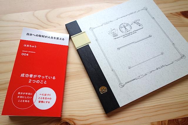 はあちゅうさんの本と正方形の大学ノート「ツバメ・ダ・ヴィンチ スクエア」