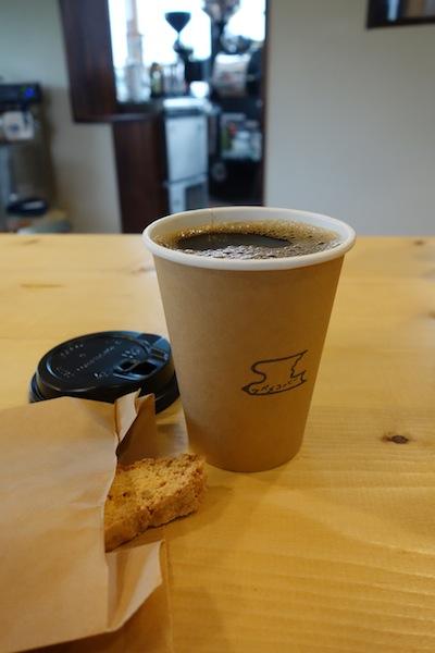 ツバメコーヒーのイヌワシブレンド