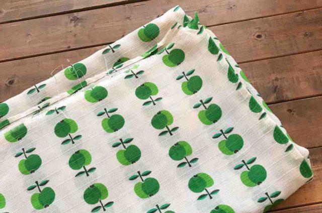 ハイネにあるusedテキスタイル(レトロな柄の布)